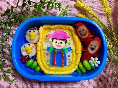 話題の【ととしーと】を使ってお弁当作り♡自分の子供を主役に?!