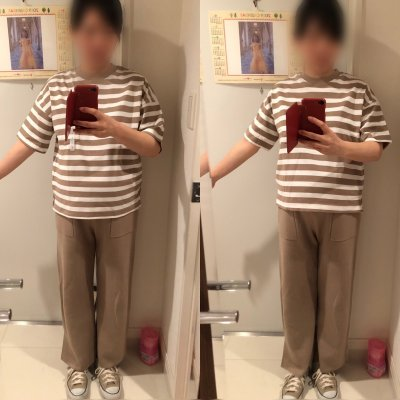 【GU】話題のスムースTとヘビーウェイトT購入レポ!