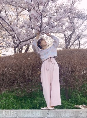 お花見♡幼稚園進級式!プチプラコーデ♪