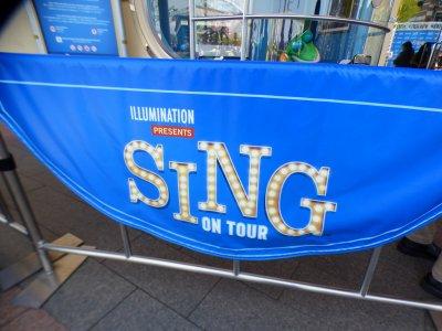 "【USJ】本日オープン""SING ON TOUR"