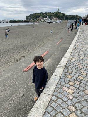 満月と新月の前後は江ノ島の陸続きに出逢えるかも!