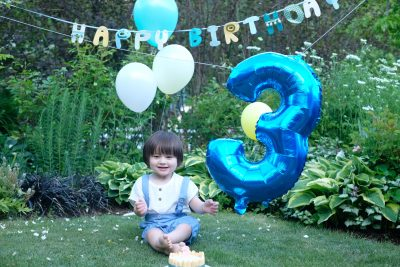 難病のエンジェル次男坊無事3歳になりました