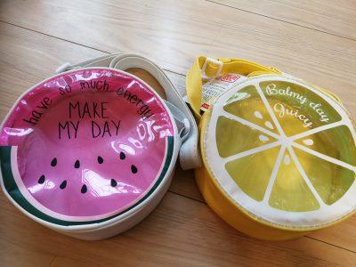 【ダイソー】スイカにレモン♡夏のお出かけに可愛いショルダーバッグ!