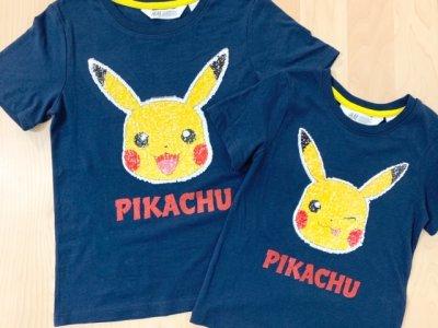 【H&M】なでると3秒で顔が変わる!?「ピカチュウTシャツ」のスゴイ仕掛け