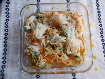 【簡単レシピ】我が家の常備菜☆カンタン酢DEなます