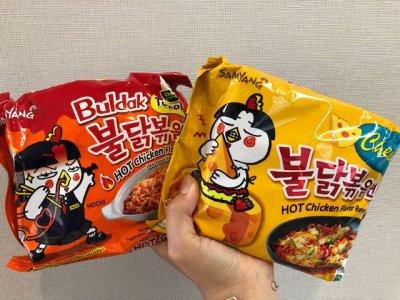 激辛!韓国のブルダック炒め麺を食べてみた