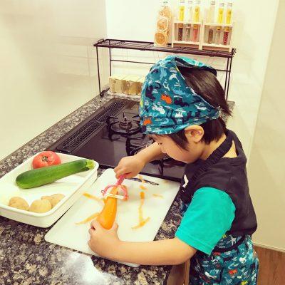 イマドキ男子は料理も必須?!子供をお料理好きする為に必要な3つのこと