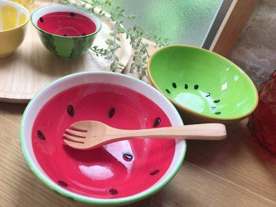 【セリア】見つけたら即買い?!可愛いすぎるフルーツ食器♪