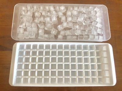 【セリア】カフェのような氷ができる製氷皿