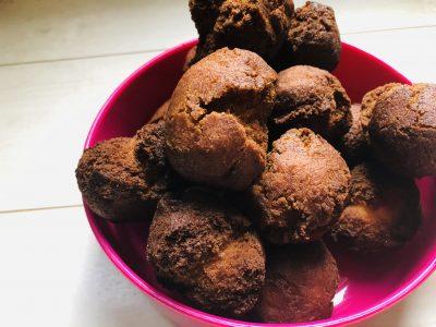 【お菓子作り】朝ごはんやおやつに!!超簡単混ぜるだけサーターアンダギー