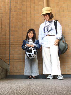 【GU】小柄ママならリンクも可!キッズのスリットワイドパンツが790円!