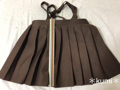 制服のスカートを切らないで短くする方法♪しかも、簡単に戻せる!!
