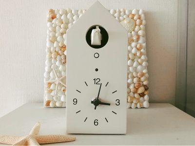 【無印良品】時計の読めない子供の時間管理に役立った!鳩時計