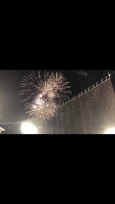 野球観戦【花火ナイト】オリックスVSホークス