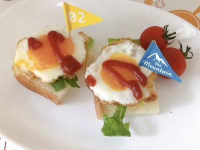 【お弁当】うずらの卵不要!普通サイズの卵で作れる可愛いミニ目玉焼き♬︎