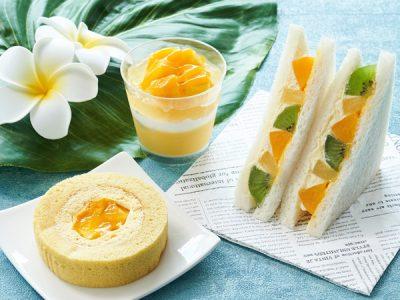 【ローソン】食べた人からトロピカル気分になれそう!マンゴーやレモンを使用したデザートやドリンクが続々登場!