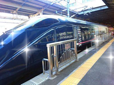 【走る美術館】現美新幹線に乗ってみた!