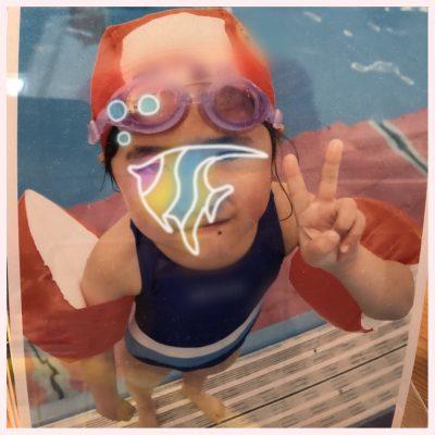 プールで顔をつけられるようになった方法!