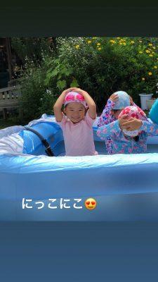 【幼稚園のプール】年中組さん☆