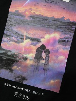 【ユニクロ】新海誠作品コレクションUT「君の名は。」3点お買い上げ