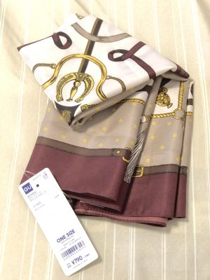 【GU】スカーフで秋先取りの華やかアレンジ6選