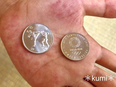 欲しい人は急げ〜!東京オリンピックの100円硬貨!