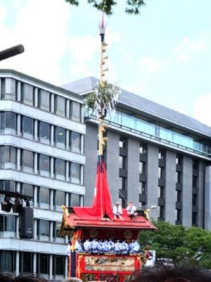 京都の夏といえば祇園祭♪