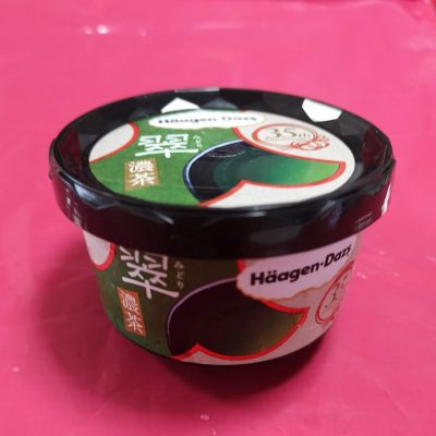 新発売【ハーゲンダッツ翠~濃茶~】とグリーンティーを食べ比べ!
