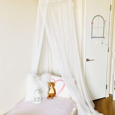 【IKEA】たった999円で娘のお部屋が憧れのプリンセスルームに♡