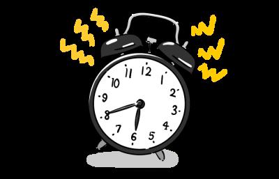 寝起きのぐずぐず30分が5分に!うまくいった2つの作戦
