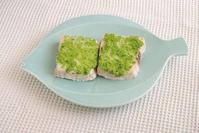 【RIZAP公式レシピ】緑鮮やか!かじきまぐろの枝豆焼き