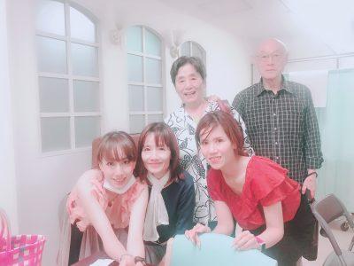 病院先で家族写真