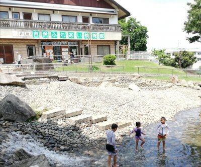 【東京北区電車で行ける穴場公園】清水坂公園 水遊びも自然とふれあいも!