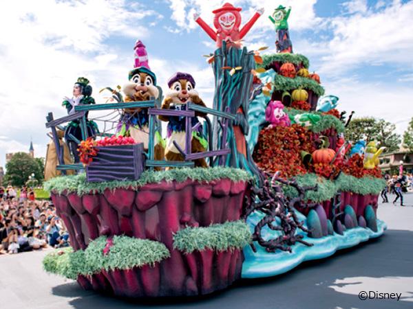 2つのパークで「ディズニー・ハロウィーン」を楽しもう!