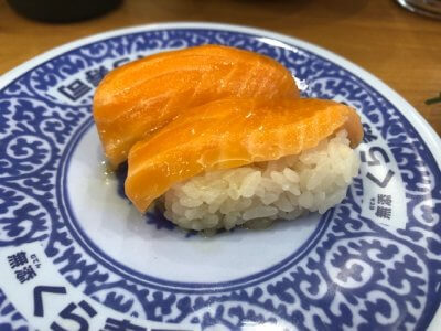 ダイエット中でもお寿司が食べたくなったらくら寿司に行こう!