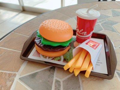 【ダイソー 】ハンバーガーセットがかわいすぎ!2歳息子が大ハマり