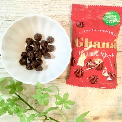 【ほっと一息】ガーナチョコ♡小袋で食べやすい!