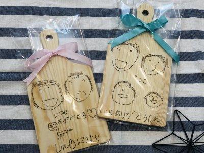 【敬老の日】DAISO商品でウッドバーニングに挑戦!!手作りプレゼント