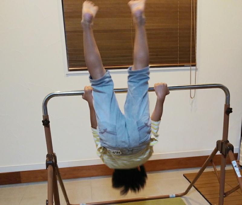 3歳の逆上がり!運動苦手ママの教え方