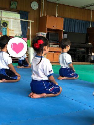 【合気道参観】幼稚園の行事☆