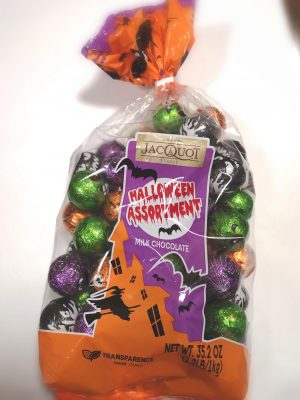 コストコのハロウィンチョコがたっぷりで可愛い!「JACQUOT」