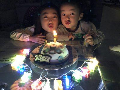 【サーティワン】冬でもバースデーケーキにアイスケーキを注文