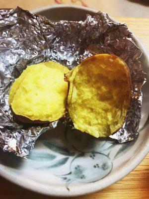 オーブントースターで簡単美味しい焼き芋