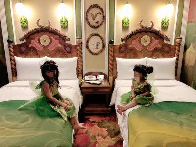 ディズニーランドホテル【ティンカーベルルーム】