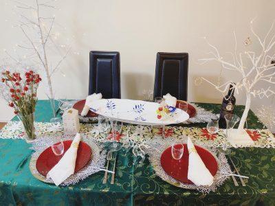 【クリスマス】テーブルコーディネートのポイント!