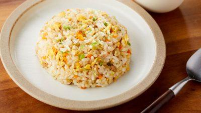 作り置き冷凍キューブで簡単・栄養バッチリな朝食を作ろう!チャーハン