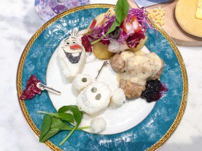 【アナ雪2】新キャラも!コラボカフェで世界観を堪能!