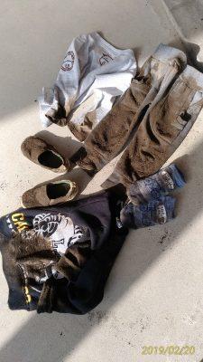子供の泥汚れ。どこまで許しますか???