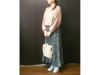 大柄主婦が着やせ効果で厳選!【しまむら】でマキシ丈ダルメ柄スカートを買ってきた