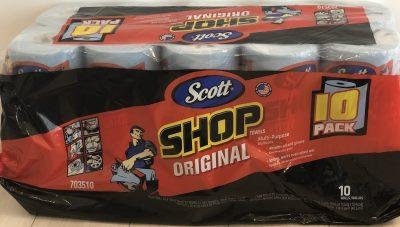 大掃除にも大活躍したコストコのスコットショップタオルは日常使いにも最適